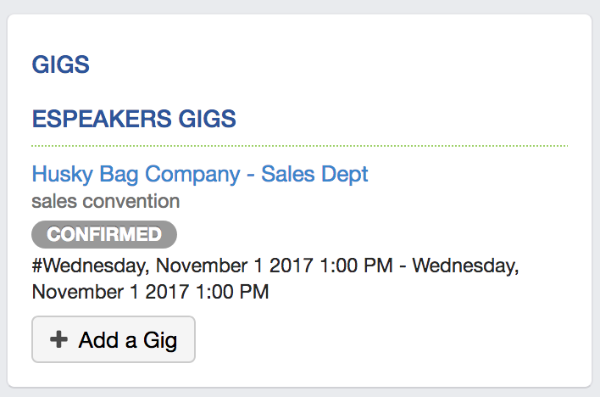 linked gigs