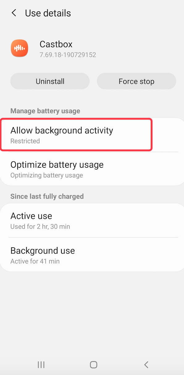 What should I do if playback stops? (Samsung, Pixel, Huawei