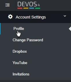 Account Settings Profile