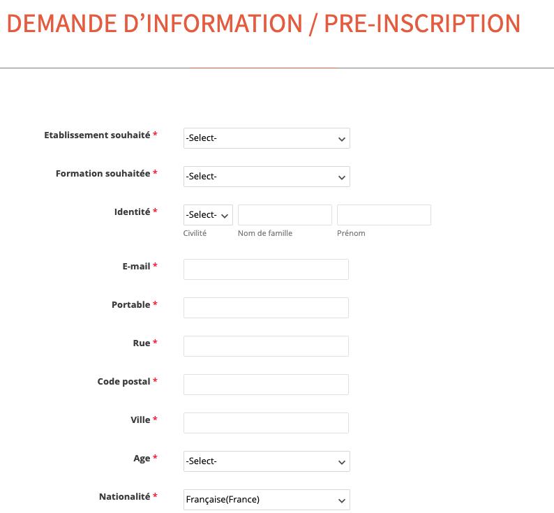 demande d'information ecm