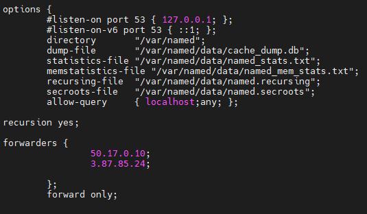 Setting Lumu IP addresses on a Linux server