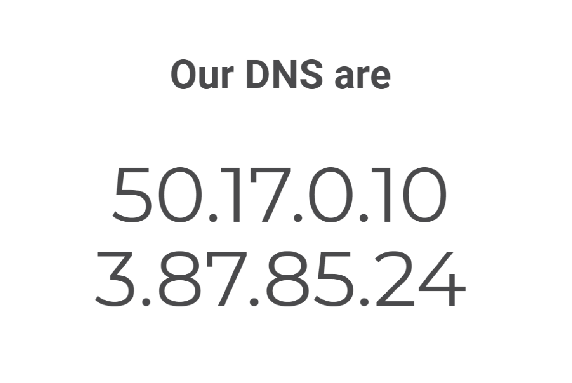 Point your DNS to Lumu