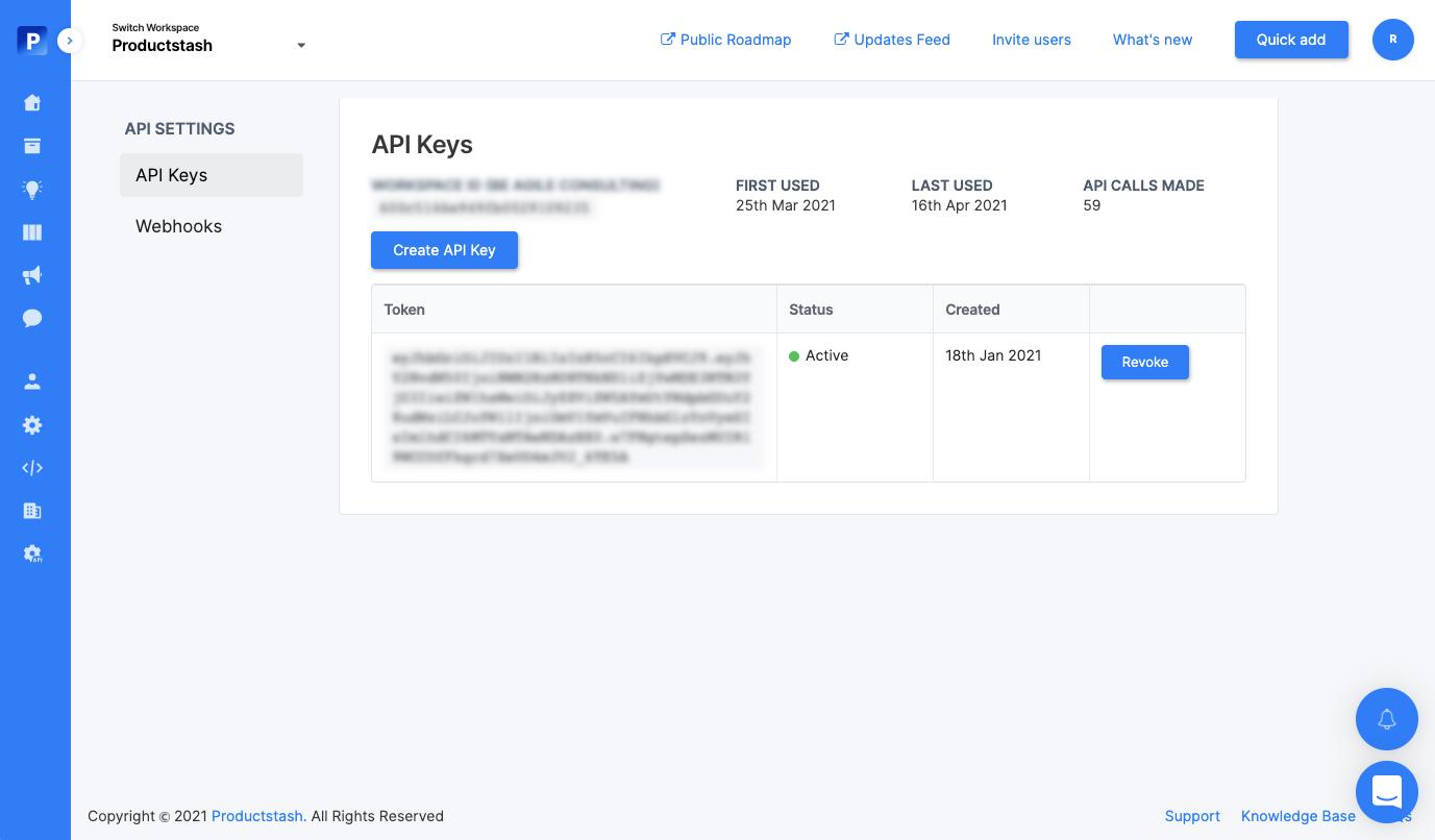 API Quick Start Guide