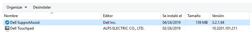 Uninstall Dell SupportAssist from Desktop Central