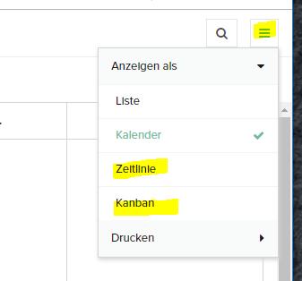 Remove alternative Options in Reports